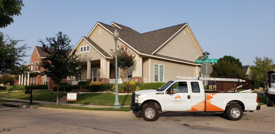 Hail Damage Roof Replacement