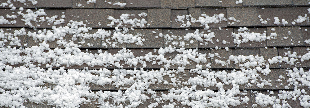 Hail Damage Insurance Claim for Roof Replacement